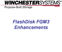 How to video demonstrates numerous improvements in the FlashDisk's new Global Manager Version 3 user interface that supports new and easy to manage capabilities for setting up and managing multiple FlashDisk RAID Disk arrays from a single pane of glass.