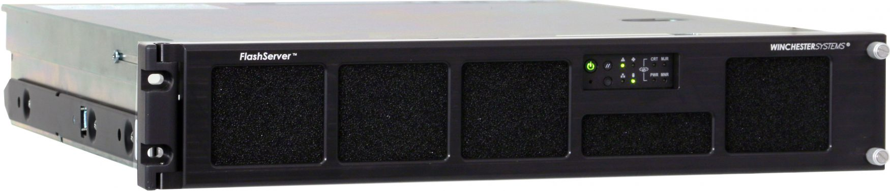 COTS, Rugged, RS-2600 FlashServer Front Angle